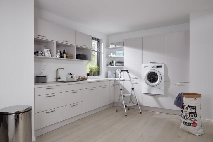 Medium Size of Küchenzeile Mit Waschmaschine Einen Hauswirtschaftsraum Planen Und Praktisch Einrichten Kcheco Küche Elektrogeräten Günstig Bett Schreibtisch Stauraum Wohnzimmer Küchenzeile Mit Waschmaschine