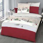 Kaeppel Biber Bettwsche 155x220 Cm Design 6252 Eisbr Rot Winter Bettwäsche Sprüche Wohnzimmer Bettwäsche 155x220