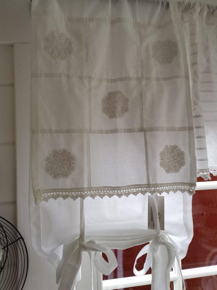 Medium Size of Raffgardine Betten Landhausstil Wohnzimmer Esstisch Bad Regal Sofa Schlafzimmer Weiß Küche Bett Boxspring Raffrollo Wohnzimmer Raffrollo Landhausstil