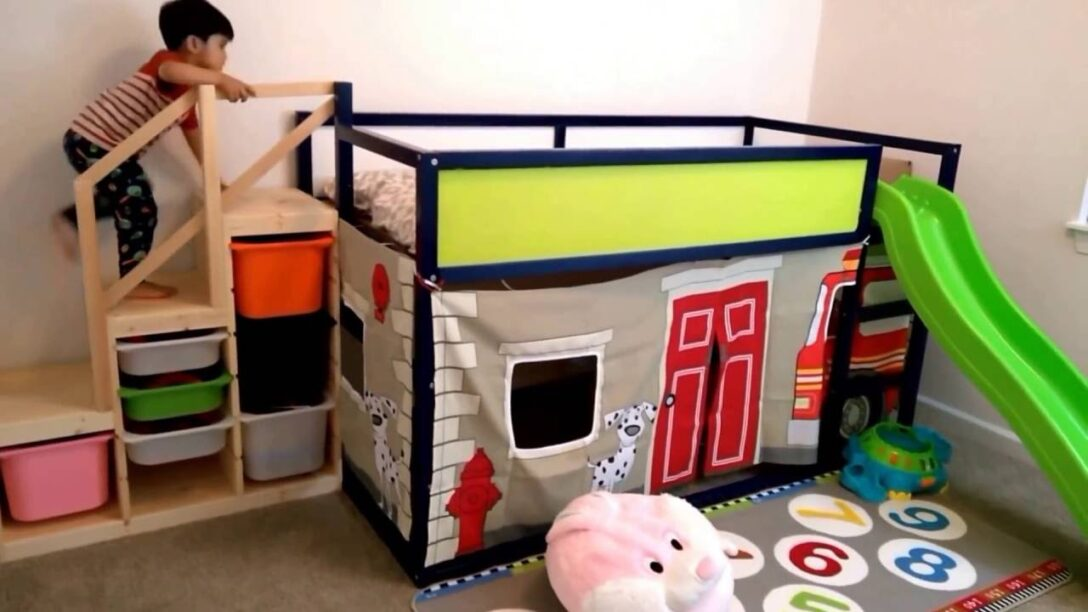Large Size of Kura Hack Ikea 2 Beds Bed Montessori Storage House Floor Stairs Hacks Bunk Instructions Fire Engine Play And Slide Structure Youtube Wohnzimmer Kura Hack