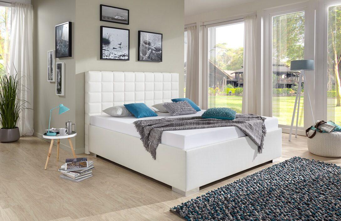 Large Size of Polsterbett 200x220 Breckle Baxter Comfort Kunstleder Wei Cm Bett Betten Wohnzimmer Polsterbett 200x220