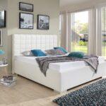 Polsterbett 200x220 Breckle Baxter Comfort Kunstleder Wei Cm Bett Betten Wohnzimmer Polsterbett 200x220
