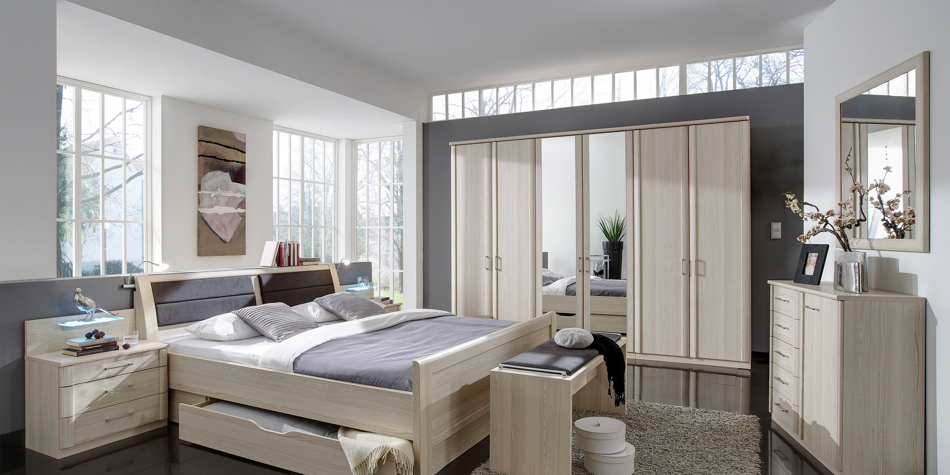 Full Size of überbau Schlafzimmer Modern Erleben Sie Das Luxor 3 4 Mbelhersteller Wiemann Komplett Mit Lattenrost Und Matratze Wandleuchte Deckenleuchten Wandtattoos Set Wohnzimmer überbau Schlafzimmer Modern