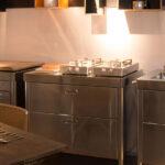 Freistehende Küchen Alpes Inoedelstahlkchen Planung Küche Regal Wohnzimmer Freistehende Küchen