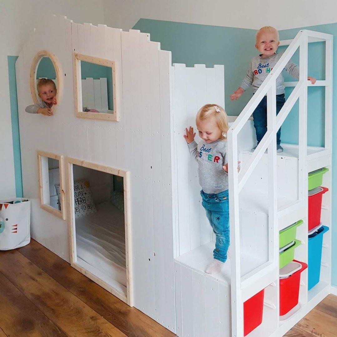 Full Size of Kura Hack Bed Storage Montessori Ikea Bunk Instructions Ideas Hacks Pinterest 2 Beds Underneath House Slide Diy Baumhaus Hochbett Wohnzimmer Kura Hack