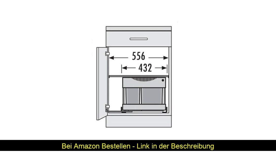Large Size of Küchenabfalleimer Hailo 3644801 Abfallsammler Tr Swing 60230m Fr Schrnke Von Wohnzimmer Küchenabfalleimer