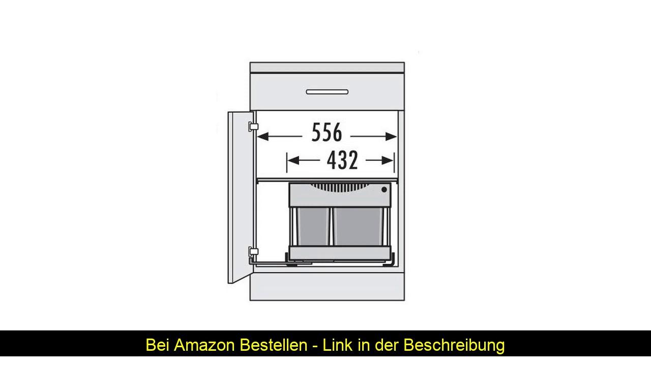 Full Size of Küchenabfalleimer Hailo 3644801 Abfallsammler Tr Swing 60230m Fr Schrnke Von Wohnzimmer Küchenabfalleimer