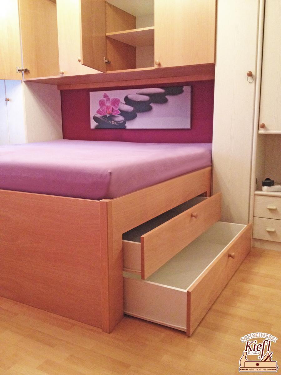 Full Size of Schlafzimmer überbau Schreinerei Thomas Kiefl Schrank Kommode Deko Lampe Set Mit Matratze Und Lattenrost Schränke Komplettes Gardinen Komplett Massivholz Wohnzimmer Schlafzimmer überbau