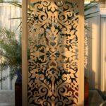 Paravent Outdoor Metall Fr Garten 15 Ideen Einen Beweglichen Sichtschutz Regal Regale Küche Edelstahl Kaufen Weiß Bett Wohnzimmer Paravent Outdoor Metall