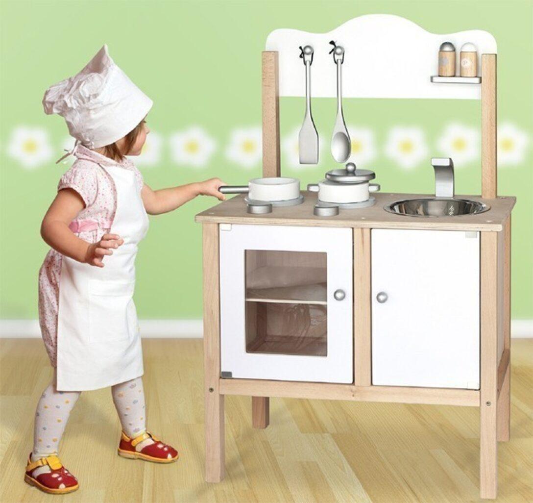 Large Size of Spielküche Paket Combi Kche Spielkche Kinderkche In Weiss Mit Zubehr Kinder Wohnzimmer Spielküche