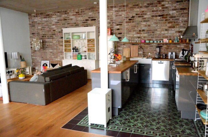 Medium Size of Offene Küche Ikea Projekt Loftausbau Wie Man Eine Kche Perfekt Ins Grillplatte Sofa Mit Schlaffunktion Ohne Geräte E Geräten Günstig Komplettküche Wohnzimmer Offene Küche Ikea