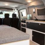 Ausziehbett Camper Wohnzimmer Peugeot Partner Als Alpin Camper Reisetauglich Ks Bett Mit Ausziehbett