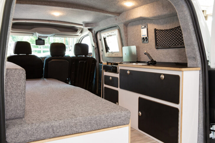 Medium Size of Peugeot Partner Als Alpin Camper Reisetauglich Ks Bett Mit Ausziehbett Wohnzimmer Ausziehbett Camper