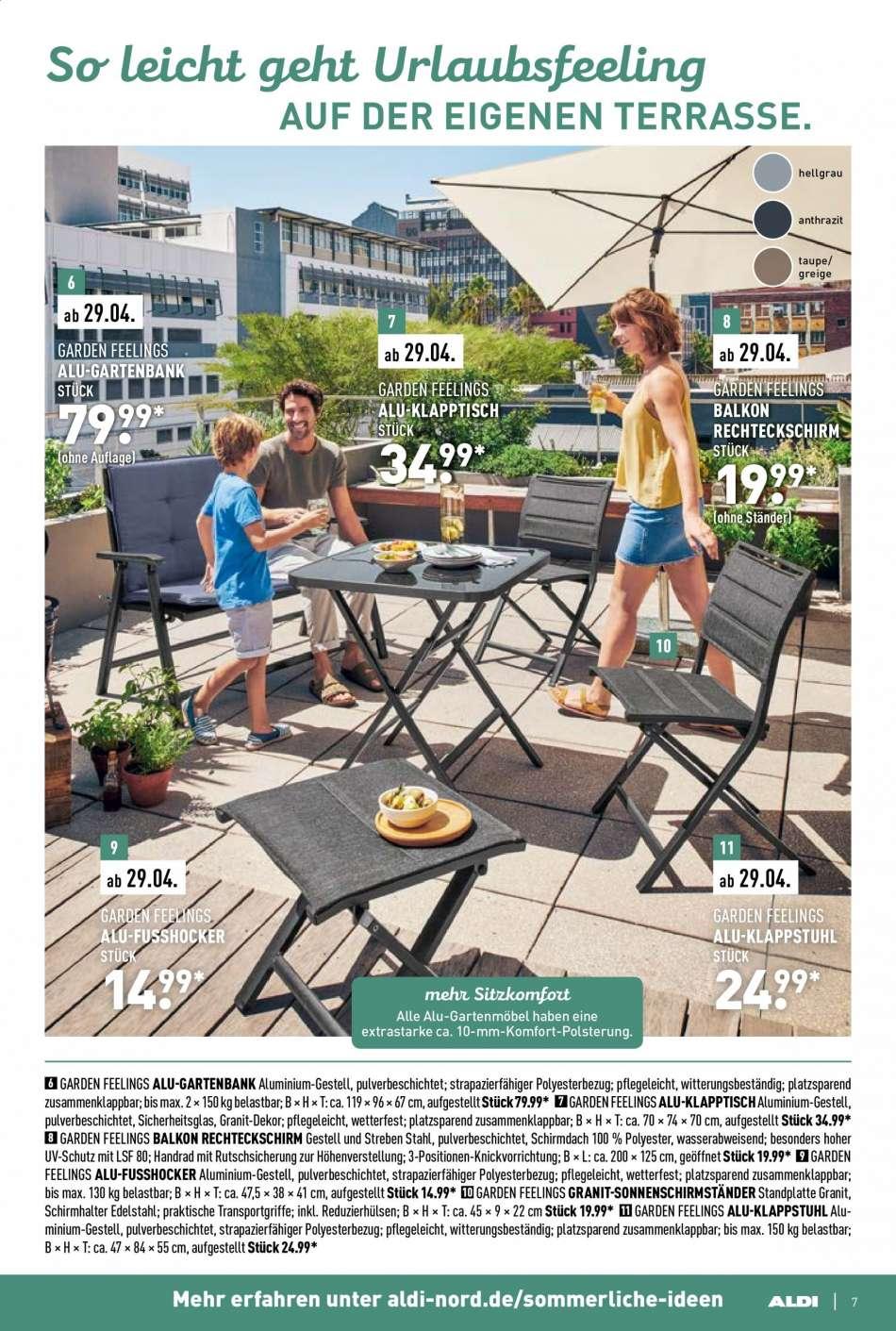 Full Size of Aldi Gartenbank Nord Aktuelle Prospekte Rabatt Kompass Relaxsessel Garten Wohnzimmer Aldi Gartenbank