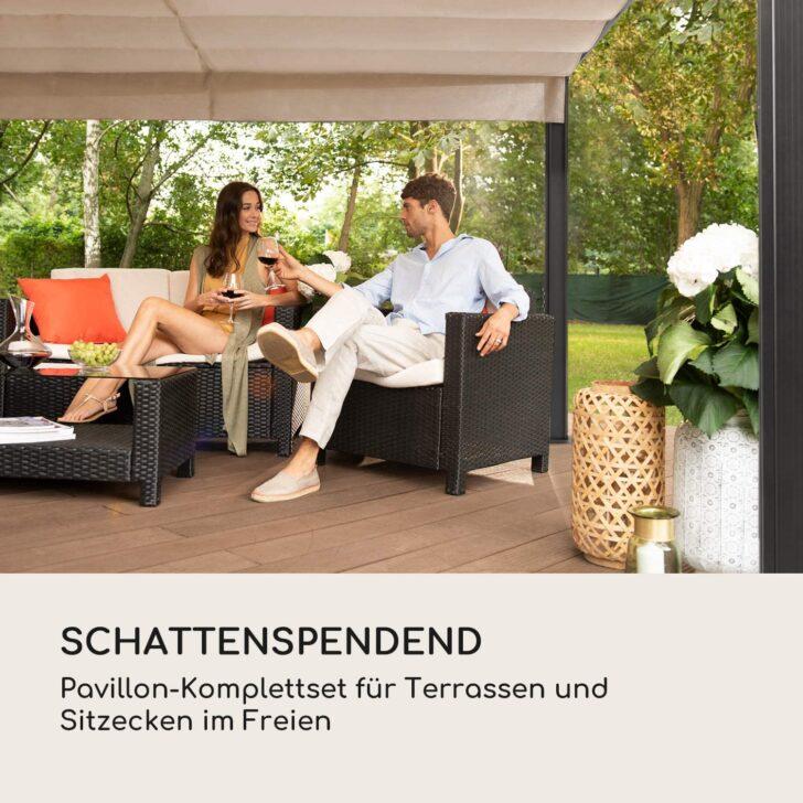 Medium Size of Terrassen Pavillon Alu Bauhaus Aluminium Test Winterfest Terrasse Wasserdicht Freistehend Metall Pergola Gestell Garten Wohnzimmer Terrassen Pavillon