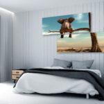 Wohnzimmer Wandbild G B 0033 R Leinwand Bilder Xxl Elefant Auf Liege Modern Heizkörper Sessel Deko Poster Deckenlampen Moderne Fürs Für Pendelleuchte Wohnzimmer Wohnzimmer Wandbild
