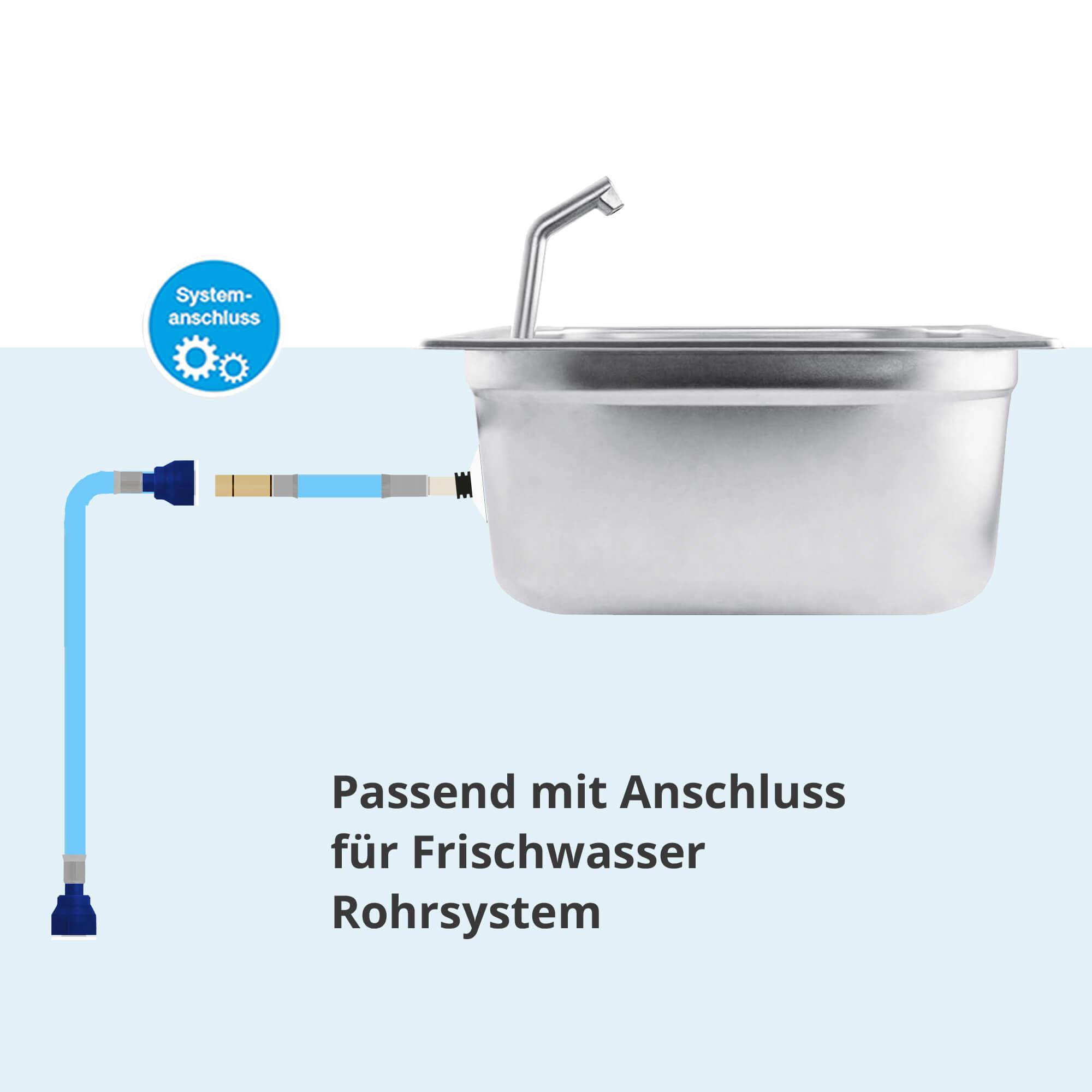 Full Size of Wasserhahn Anschluss Klapphahn Kaufen Mit Armatur Runnywater Küche Wandanschluss Bad Für Wohnzimmer Wasserhahn Anschluss