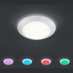 Deckenleuchte Led Dimmbar Sternenhimmel Mit Fernbedienung Farbwechsel Ebay Lampe Amazon Deckenlampe Wohnzimmer Test Bauhaus Obi Rund Anlernen Deckenlampen Für Wohnzimmer Deckenlampe Led Dimmbar