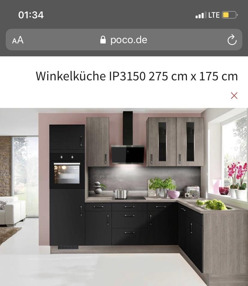 Full Size of Poco Küchenmöbel Neue Kche Noch Verpackt Gebrauchte Kchen Schlafzimmer Komplett Küche Betten Bett 140x200 Big Sofa Wohnzimmer Poco Küchenmöbel