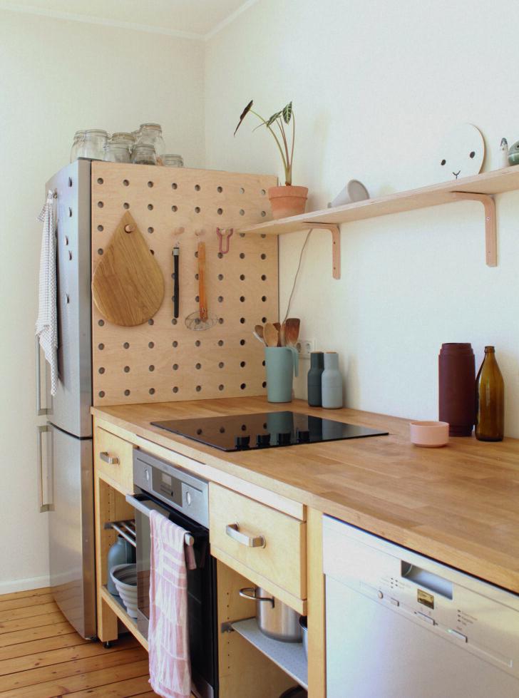 Medium Size of Ikea Vrde Stylish Kitchen From Used Components Kche Kosten Betten Bei Modulküche Holz Küche Kaufen 160x200 Sofa Mit Schlaffunktion Miniküche Wohnzimmer Modulküche Ikea Värde