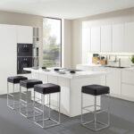 Weisse Küche Modern Art Smart Einbauküche Weiss Hochglanz Vinylboden Granitplatten Fliesenspiegel Selber Machen Müllschrank Keramik Waschbecken Armatur Wohnzimmer Weisse Küche Modern