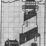 Häkelmuster Gardine Lighthouse3jpg 20332985 With Images Filet Crochet Charts Gardinen Für Die Küche Wohnzimmer Schlafzimmer Scheibengardinen Fenster Wohnzimmer Häkelmuster Gardine