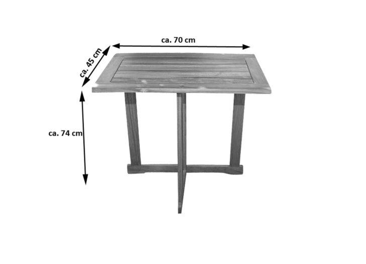 Medium Size of Balkontisch Klappbar Akazie 70 45 Cm Alexa Bett Ausklappbar Ausklappbares Wohnzimmer Balkontisch Klappbar