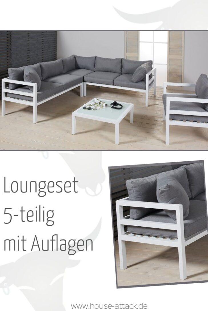 Medium Size of Modern Und Stylisch 5 Teilige Garten Loungegruppe Aus Fenster Holz Alu Aluminium Verbundplatte Küche Loungemöbel Aluplast Günstig Preise Wohnzimmer Loungemöbel Alu