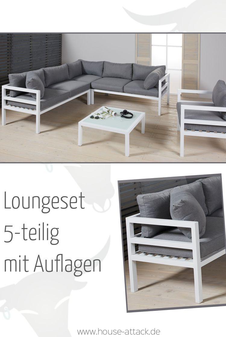 Full Size of Modern Und Stylisch 5 Teilige Garten Loungegruppe Aus Fenster Holz Alu Aluminium Verbundplatte Küche Loungemöbel Aluplast Günstig Preise Wohnzimmer Loungemöbel Alu