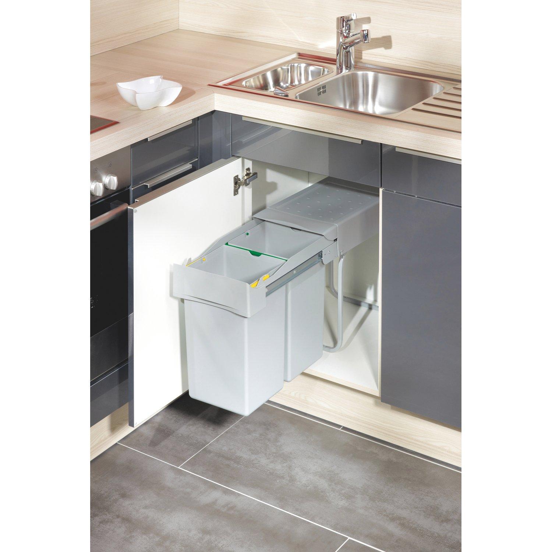Full Size of Einbau Mlleimer 2 14 L Kaufen Bei Obi Wohnzimmer Küchenabfalleimer