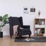 Liegesessel Verstellbar Wohnzimmer Liegesessel Verstellbar Sessel Dunkelgrau Stoff Gitoparts Sofa Mit Verstellbarer Sitztiefe