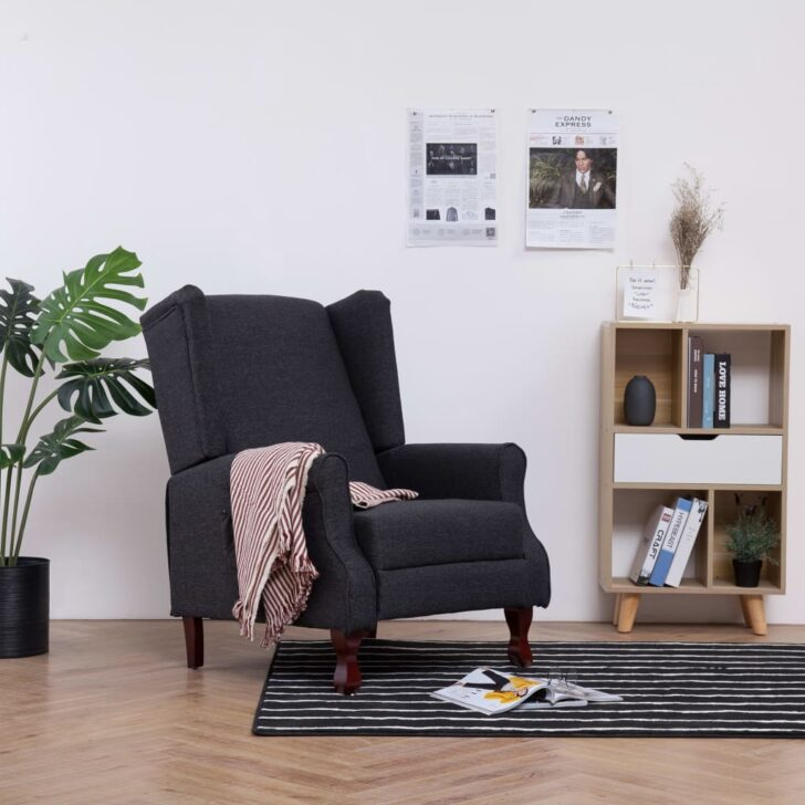 Medium Size of Liegesessel Verstellbar Sessel Dunkelgrau Stoff Gitoparts Sofa Mit Verstellbarer Sitztiefe Wohnzimmer Liegesessel Verstellbar