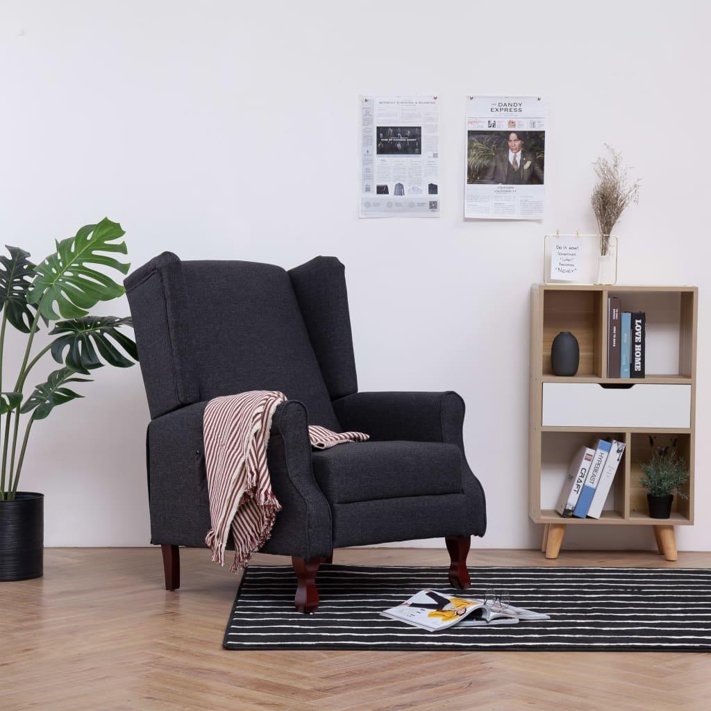 Full Size of Liegesessel Verstellbar Sessel Dunkelgrau Stoff Gitoparts Sofa Mit Verstellbarer Sitztiefe Wohnzimmer Liegesessel Verstellbar