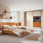 überbau Schlafzimmer Modern In Kirschbaum Wohnellode Küche Weiss Wandbilder Deckenlampe Komplett Poco Tapete Komplettangebote Sessel Günstige Landhausstil Wohnzimmer überbau Schlafzimmer Modern