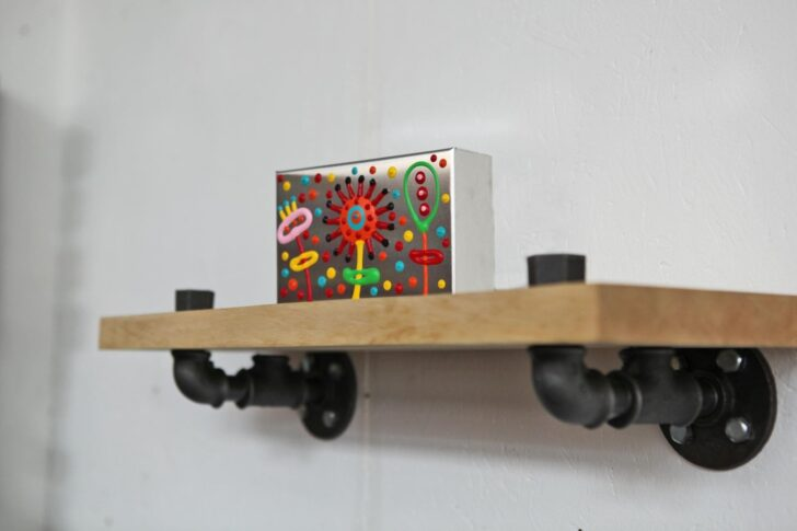 Medium Size of Küche Handtuchhalter Wand Regale Industrieregale Dusche Bad Sauna Kche Einlegeböden Hochschrank Buche Lüftung Landhausküche Gebraucht Fliesen Für Keramik Wohnzimmer Küche Handtuchhalter