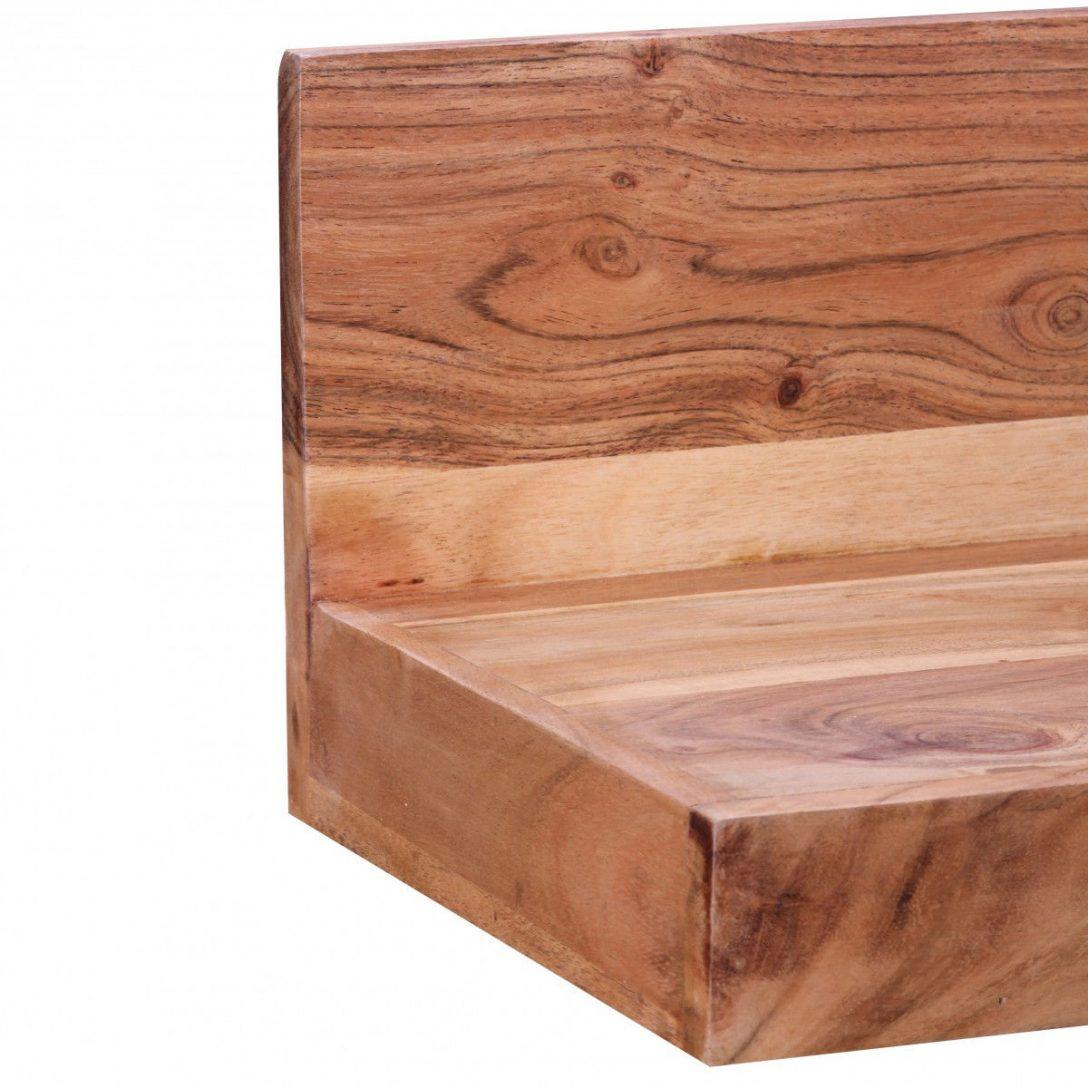 Large Size of Holzregal Wand Weran Wandregal Mumbai Massiv Holz Akazie 80 Cm Landhaus Bett Sprüche Wandtattoo Wandsprüche Wandtattoos Wohnzimmer Wanduhr Küche Wohnzimmer Holzregal Wand