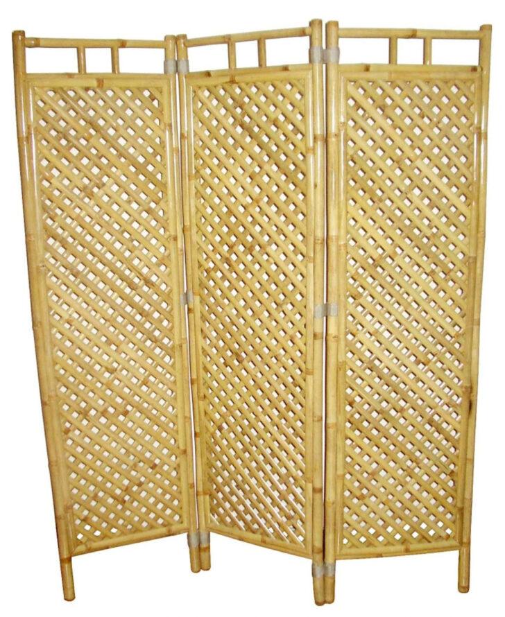 Medium Size of Bambus Paravent Raumteile 3 45 Cm H 160 Garten Bett Wohnzimmer Paravent Bambus