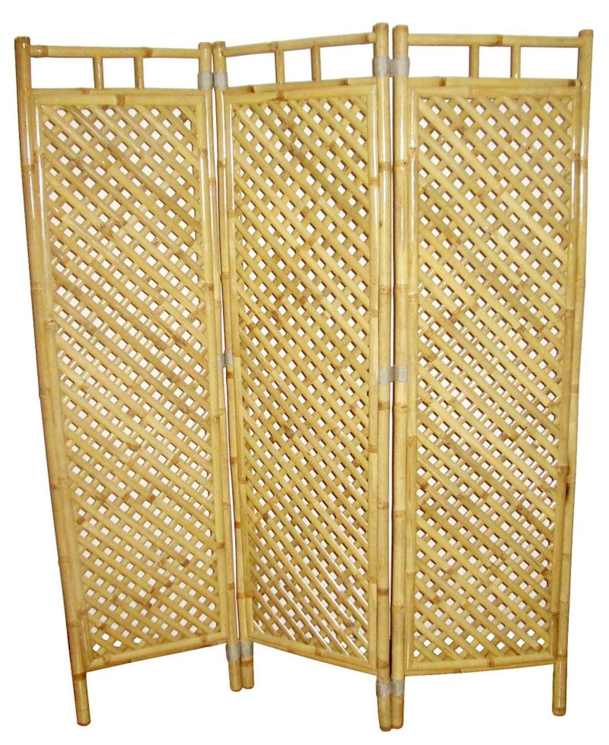 Full Size of Bambus Paravent Raumteile 3 45 Cm H 160 Garten Bett Wohnzimmer Paravent Bambus