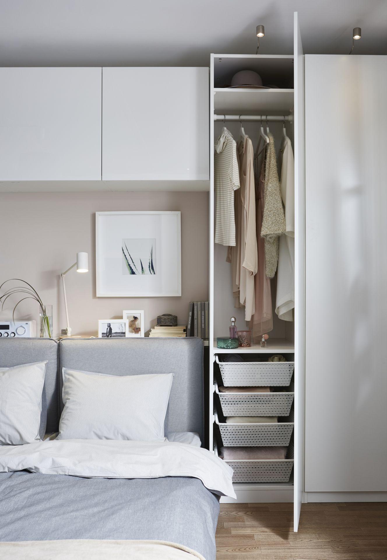 Full Size of Ikea Deutschland Man Kann Paund Best Super Kombinieren Fr Schlafzimmer Set Weiß Deckenleuchten Komplette Loddenkemper Wandleuchte Weiss Vorhänge Mit Wohnzimmer Schlafzimmer überbau