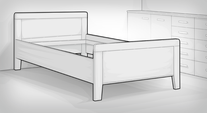 Medium Size of Klappbares Doppelbett Das Bettgestell Basis Des Europischen Bettes Bett1de Ausklappbares Bett Wohnzimmer Klappbares Doppelbett