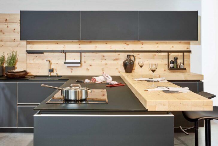 Medium Size of Vollholzküche Massivholzküche Holzküche Wohnzimmer Holzküche Auffrischen