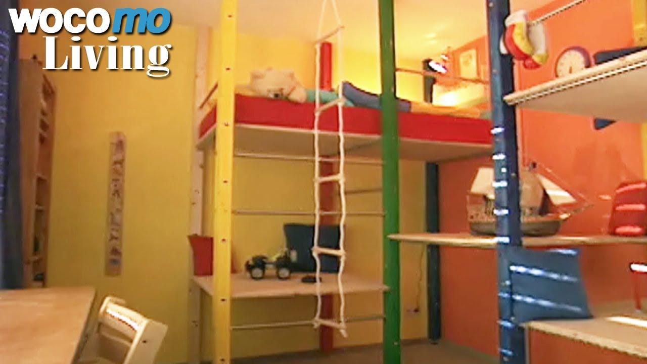 Full Size of Klettergerst Im Kinderzimmer Gestalten Tapetenwechsel Br Klettergerüst Garten Wohnzimmer Klettergerüst Indoor Diy
