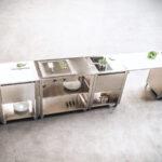 Mobile Outdoorküche Outdoorkchen Fr Garten Und Terrasse Küche Wohnzimmer Mobile Outdoorküche
