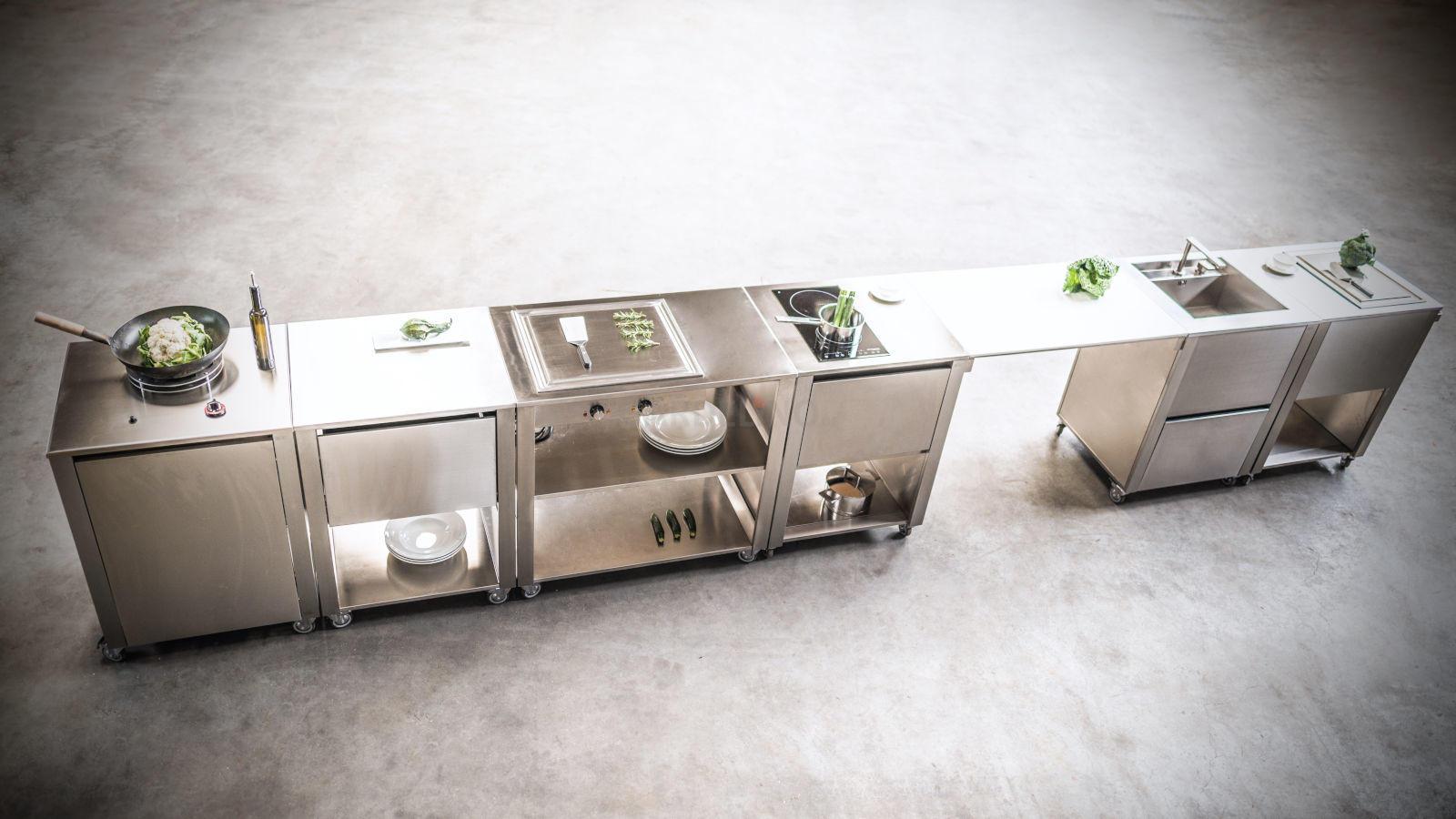 Full Size of Mobile Outdoorküche Outdoorkchen Fr Garten Und Terrasse Küche Wohnzimmer Mobile Outdoorküche