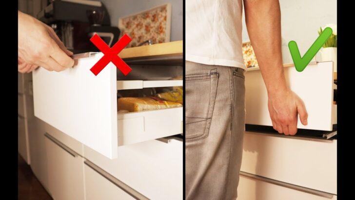 Medium Size of Küchenkarussell Blockiert Ikea Kche Schublade Ausbauen Und Einsetzen Maximera Youtube Wohnzimmer Küchenkarussell Blockiert