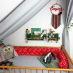 Kinderbett Diy Kreativ Oder Primitiv Roomtour Mrchenwald Kinderzimmer Wohnzimmer Kinderbett Diy