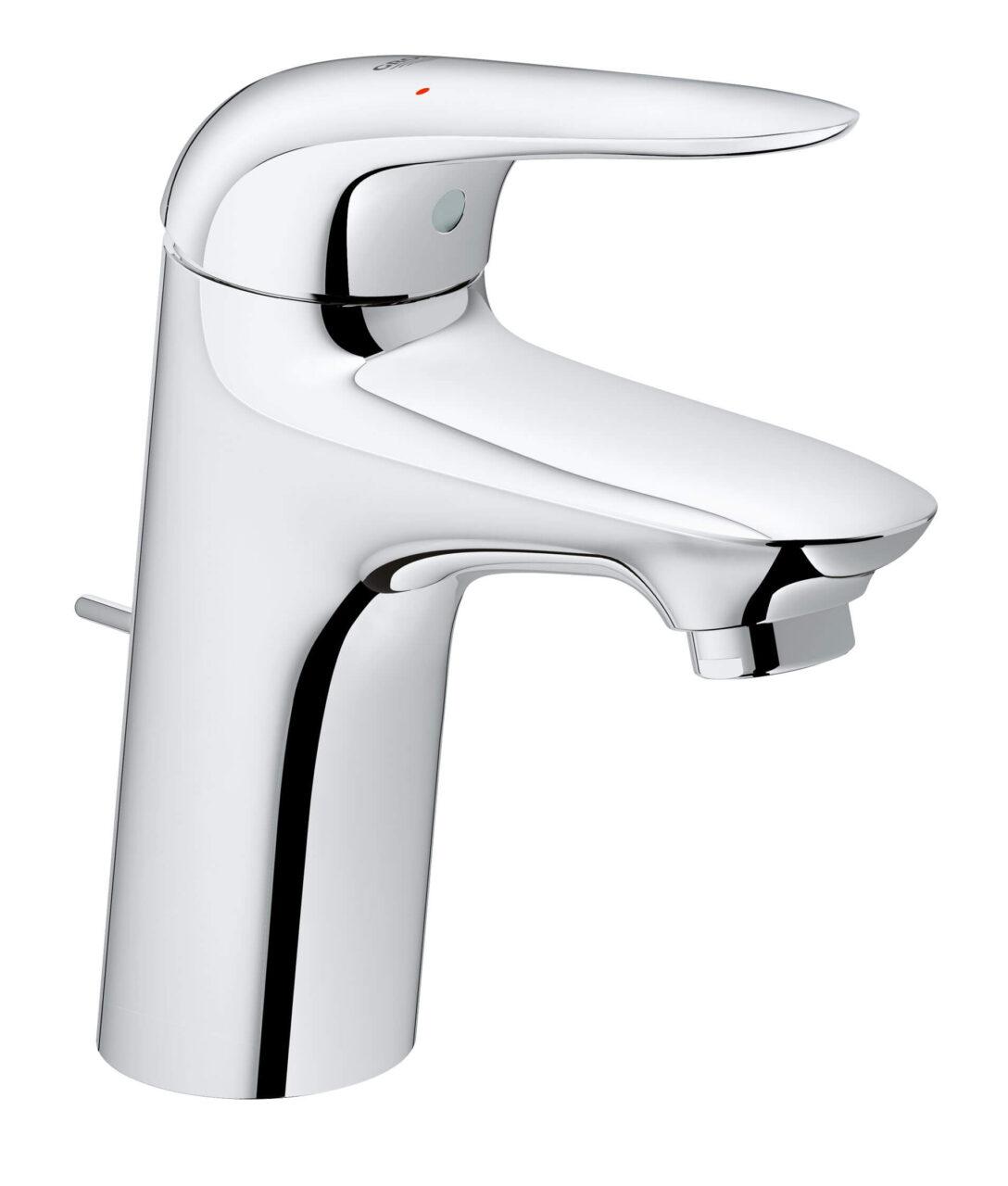 Large Size of Grohe Waschtischarmatur New Wave M Wasserhahn Fr Bad Küche Thermostat Dusche Für Wandanschluss Wohnzimmer Grohe Wasserhahn