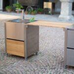Mobile Outdoorkche Cun Von Jokodomus System Küche Wohnzimmer Mobile Outdoorküche