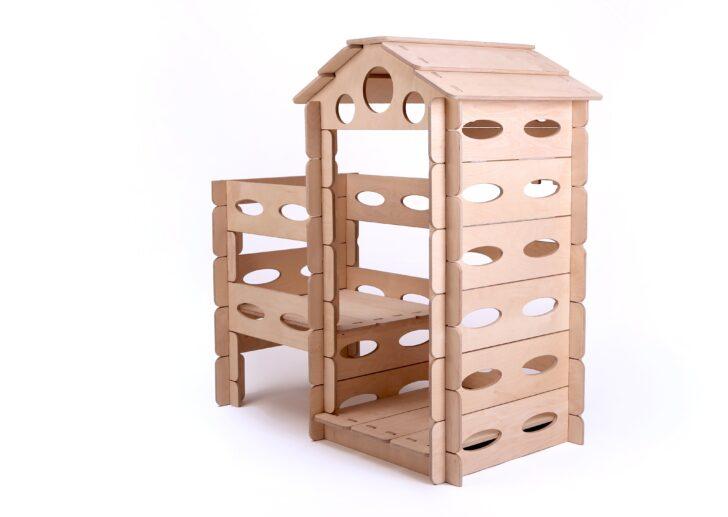 Medium Size of Kinderspielhaus Holz Spielhaus Montessori Kletterturm Steckhaus Betten Aus Massivholz Holzhäuser Garten Küche Weiß Holzhaus Kind Modulküche Loungemöbel Wohnzimmer Kinderspielhaus Holz