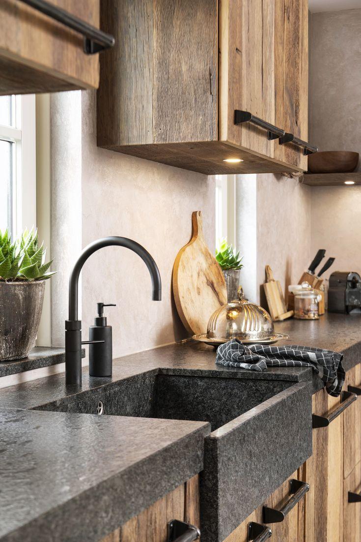 Full Size of Küchen Rustikal Eiken Keuken Restylexl Wohnung Kche Regal Esstisch Holz Rustikales Bett Rustikaler Küche Wohnzimmer Küchen Rustikal
